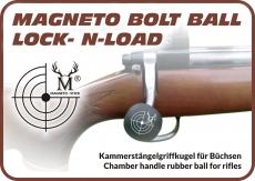 MAGNETO BOLT BALL / RUBBER Kammerstängelgriffkugel f. Büchsen